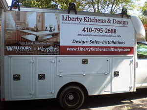 Liberty Kitchen Design Truck Maryland